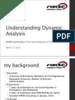 Seismic 4 Dynamic Analysis of Buildings ffffff