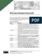 MPLS Label Distribution Protocol (LDP)
