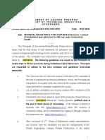 AP Poly Cet Spot Guidelines