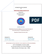 Indian Railway Summer Training Project Report