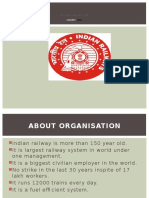 Indian Railway summer training presentation