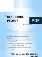 Describing People Presentation