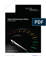 Example Sales Performance Meter Report