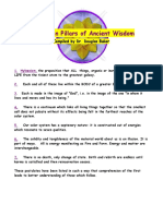 The Seven Pillars of Ancient Wisdom - Compiled by Douglas Baker