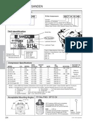 NEW GENUINE OEM AC COMPRESSOR CLUTCH COIL FOR SANDEN SD508 8387