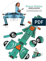 Andre Paper Scooter