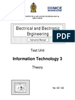 EE122 Information Technology 3