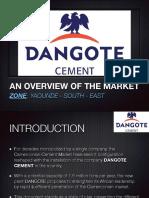 Le Marché du Ciment au Cameroun- Cas du ciment Dangote