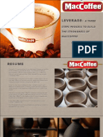 How to LEVERAGE a Brand- Example of Maccoffee