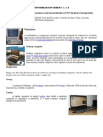 1.1-2 Basic Terms, Concepts, Functions and Characteristics of PC Hardware Components.docx