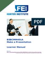 Makke a Presentation