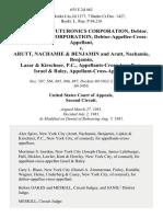 In the Matter of Futuronics Corporation, Debtor. Futuronics Corporation, Debtor-Appellee-Cross-Appellant v. Arutt, Nachamie & Benjamin and Arutt, Nachamie, Benjamin, Lazar & Kirschner, P.C., Appellants-Cross-Appellees, Israel & Raley, Appellant-Cross-Appellee, 655 F.2d 463, 2d Cir. (1981)