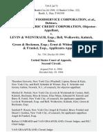 In Re Flagstaff Foodservice Corporation, Debtors. General Electric Credit Corporation, Objector-Appellant v. Levin & Weintraub, Esqs. Bell, Wolkowitz, Kalnick, Klee, Green & Beckman, Esqs. Ernst & Whinney and Angel & Frankel, Esqs., Applicants-Appellees, 739 F.2d 73, 2d Cir. (1984)