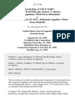 prod.liab.rep. (Cch) P 14,007 William L. Baxter, Ppa Andrew T. Baxter, Third-Party-Defendant v. Sturm, Ruger & Co. Inc., Third-Party-Plaintiff, 32 F.3d 48, 2d Cir. (1994)