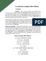 Profil, Biodata, dan Data Lengkap Mike Mohede