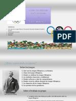 Los Juegos Olimpicos y las Mates.