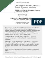 Nabisco, Inc. And Nabisco Brands Company, Plaintiffs-Counter-Defendants v. Warner-Lambert Company, Defendant-Counter-Claimant-Appellee, 220 F.3d 43, 2d Cir. (2000)