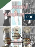 CONSECINTELE ABANDONULUI MATERNAL