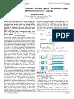 Distributed Fiber Optic Sensors – Brillouin Optical Time Domain Analysis (BOTDA) Sensor in Simple Language