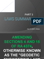 Laws Summary Part3