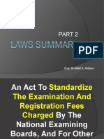 Laws Summary Part 2