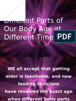 Aging of Body Parts.ppsx