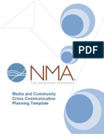 TEMPLATES -Crisis Communication Plan NMA