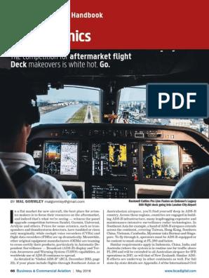 BCA 2016 Purchasing Planning Handbook   Avionics   Aerospace Engineering