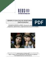 Genero e Igualdad de Oportunidades en La Ue