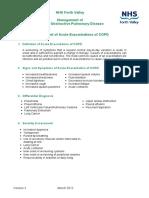 Management of Acute Exacerbation Copd 1