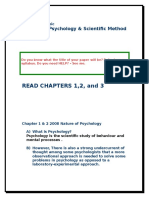 Nature of Psychology 2008