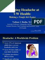 1 24 07 Rudin Headache for MDs 2007