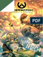 Comic Overwatch Junkrat Roadhog