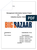 Big Bazaar_Front Page, Company Goals and Objectives, TPS_Prathamesh