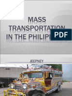 Philippine Mass Transportation