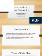 Introduction to Gas Dynamics
