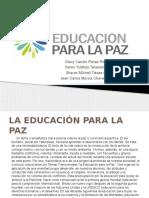 Educacion para la paz