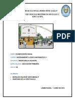 Modelo t . Programación Anual y Unidades de Aprendizaje