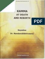 330. Kama At Death And Rebirth - Baddanta Dr. Nandamalabhivamsa