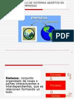 Sistemas Abiertos en Las Empresas