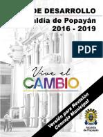 Plan de Desarrollo Municipal 2016-2019 Vive El Cambio