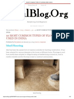 10 Most Common Types of Flooring Used in India