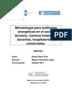 MEMORIA - Metodologia Para Auditorias Energéticas(1)