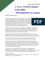 1999-09 Thomas Rudolph zur Montagsdemonstration 1989