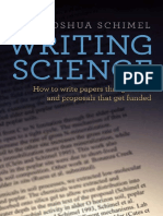 Joshua Schimel-Writing Science  How to Write Papers That Get Cited and Proposals That Get Funded