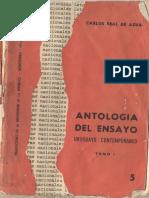 Real - Antologia Del Ensayo Uruguayo Tomo 1