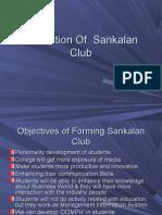 Formation of Sankalan Club5