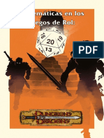 Matematicas en Los Juegos de Rol - Dragones y Mazmorras