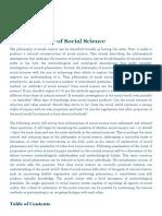 Social Science, Philosophy of _ Internet Encyclopedia of Philosophy