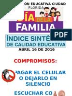 Presentacion Indice Iecf Abril 2016 Familia